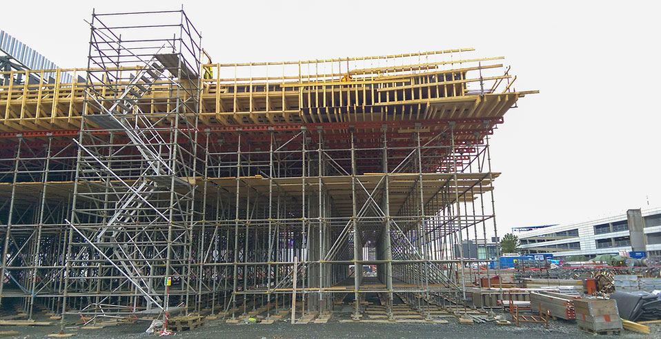 aluminium scaffold staircase